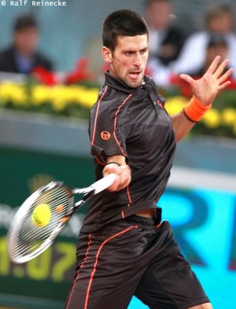 novak djokovic madrid 2011. 2 Novak Djokovic (SRB) v