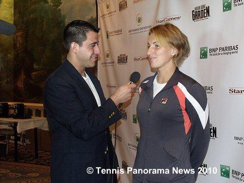 Cicma nd Kuznetsova Tennis Panroama News BNPBK
