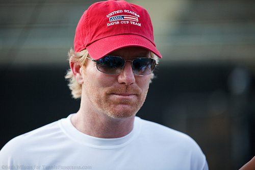 Jim Courier (Photo by Beth Wilson for Tennis Panorama News)
