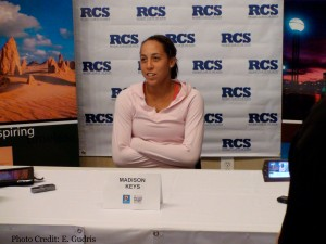 Madison Keys (Photo by Erik Gudris) Tennis Panorama New
