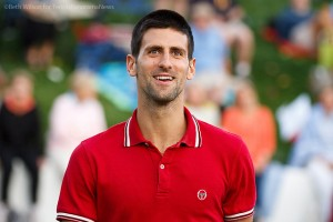 Novak Djokovic at Desert Smash