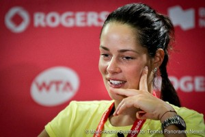 Ana Ivanovic with media 08092012