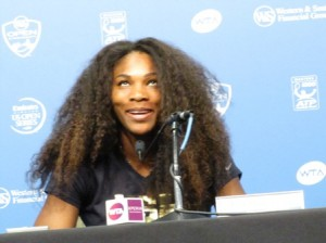 Serena photo © Enrique Fernandez for Tennis Panorama