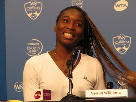 Venus Williams photo  Enrique Fernandez for Tennis Panorama