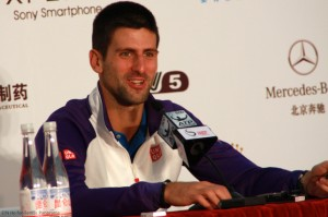 Djokovic in press 10072012