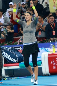 Victorious Victoria Azarenka China Open