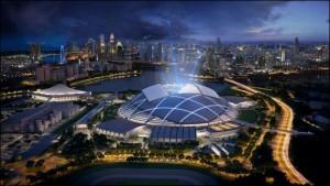 Singapore Sports Hub ©2013 Sports Hub Pte. Ltd.