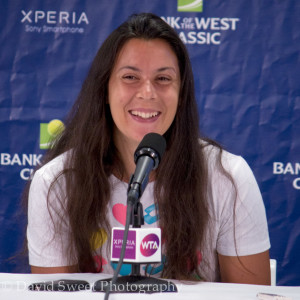 Marion Bartoli Day 2 Press Conference