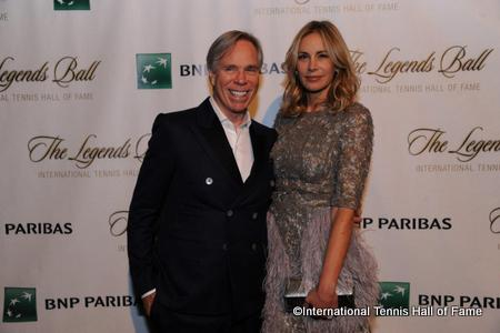 Tommy Hilfiger & his wife Dee