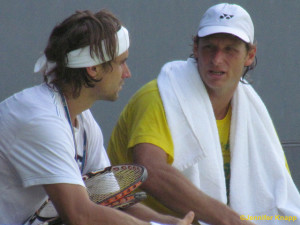 David Ferrer and David Nalbandian