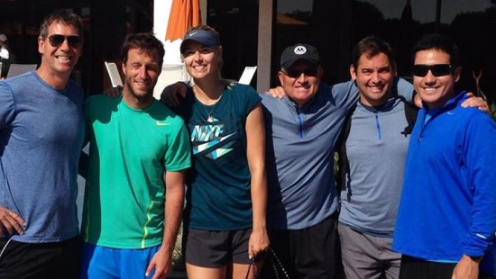 (Photo from Maria Sharapova's Facebook page)