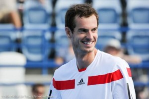 Andy Murray smiling