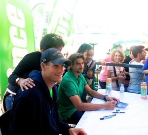 Australian Open Hub John Isner & David Ferrer 1