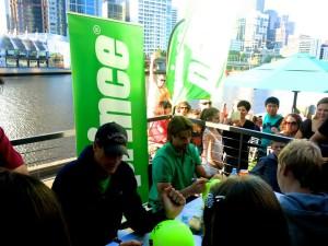 Australian Open Hub John Isner & David Ferrer 2