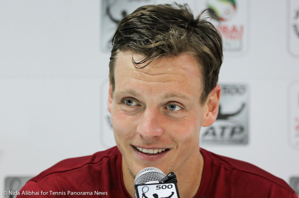 Berdych in press