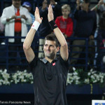 Djokovic applauds