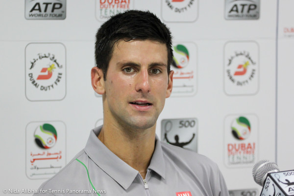 Djokovic in press 1