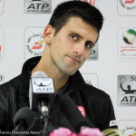 Djokovic in press
