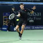 Djokovic running fh