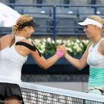 Lisicki- Wozniacki handshake