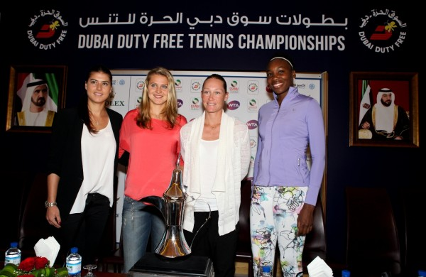 Players at WTA Draw