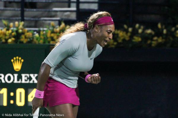 Serena fistpump yell