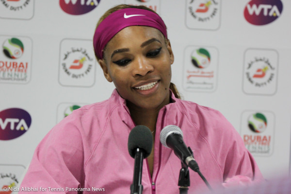Serena in press