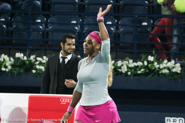 Serena waves
