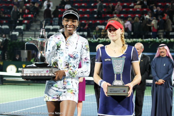 Venus and Cornet with trophies