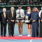 Venus w trophy with Coenet and co