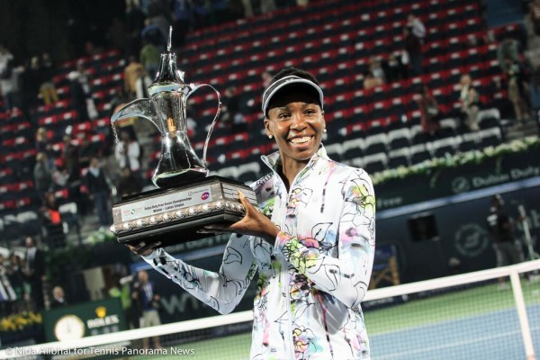 Venus with trophy