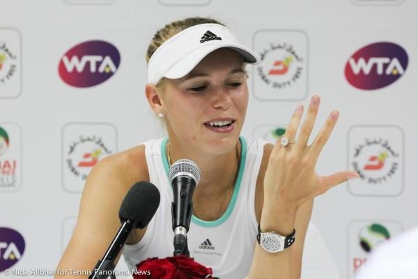 Wozniacki engagement ring