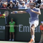 Federer sideways fh