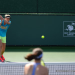 Licki and Hingis practice on 332014