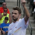 Thumbs up Wawrinka