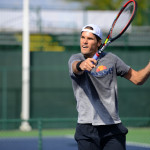 Tommy Haas practice thursday
