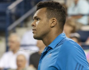 Tsonga in contemplation