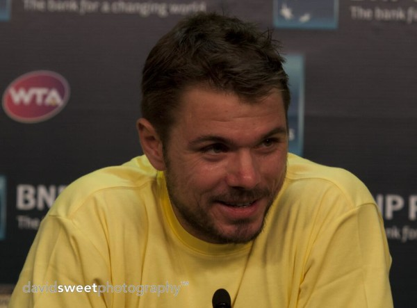 Wawrinka in press