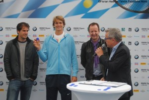Main draw ceremony