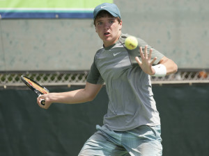 John McNally, USA, winner of boys 16 singles, photo By Cynthia Lum / USTA