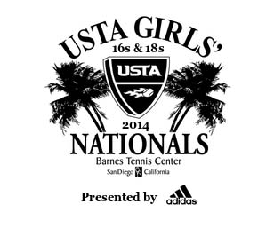 USTA Girls 2014 Tournament Logo