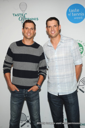 Bryan Brothers Taste of Tennis