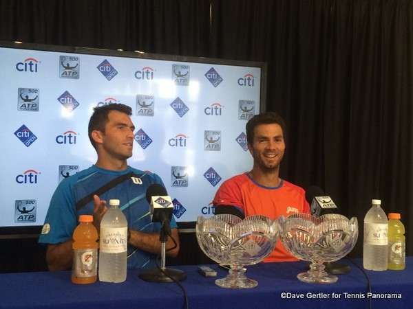 Horia Tecau and Jean-Julien Rojer