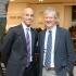 James Blake and Brooks Brothers CEO Claudio Del Vecchio