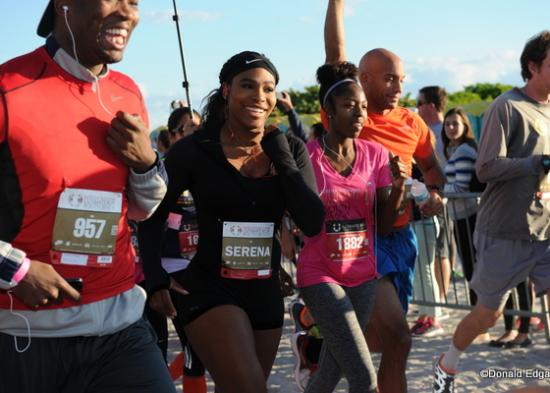 Serena Williams Live Ultimate Run