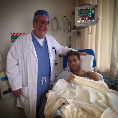 Juan Del Potro in Mayo Clinic