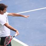 221 Dubai Federer practice