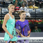 221 Dubai Pliskova Halep before match-001