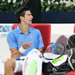 Djokovic at changeover-001