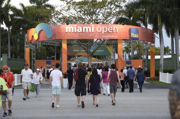 Miami Open Front gate
